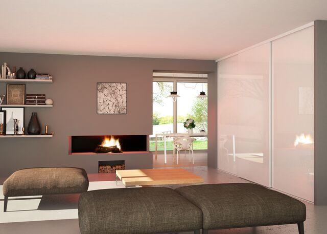 Un intérieur zen, chaleureux et contemporain