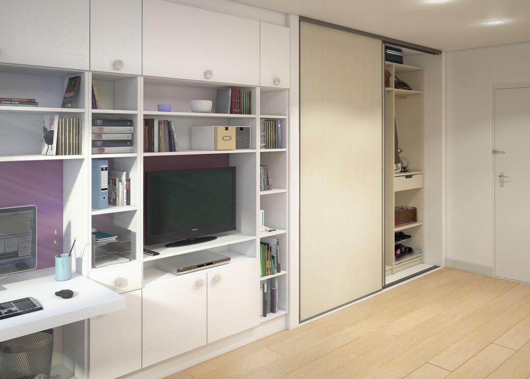 Aménager des espaces optimisés dans un studio