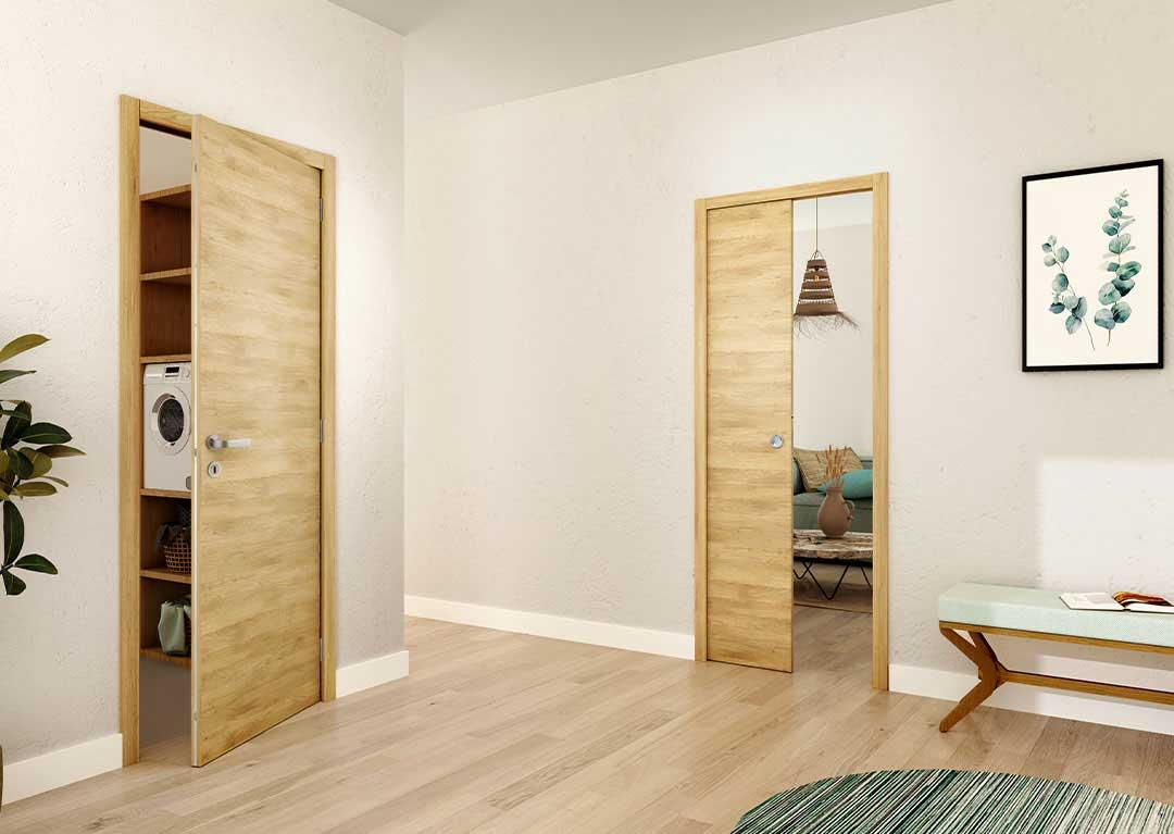 Des portes intérieures au design assorti