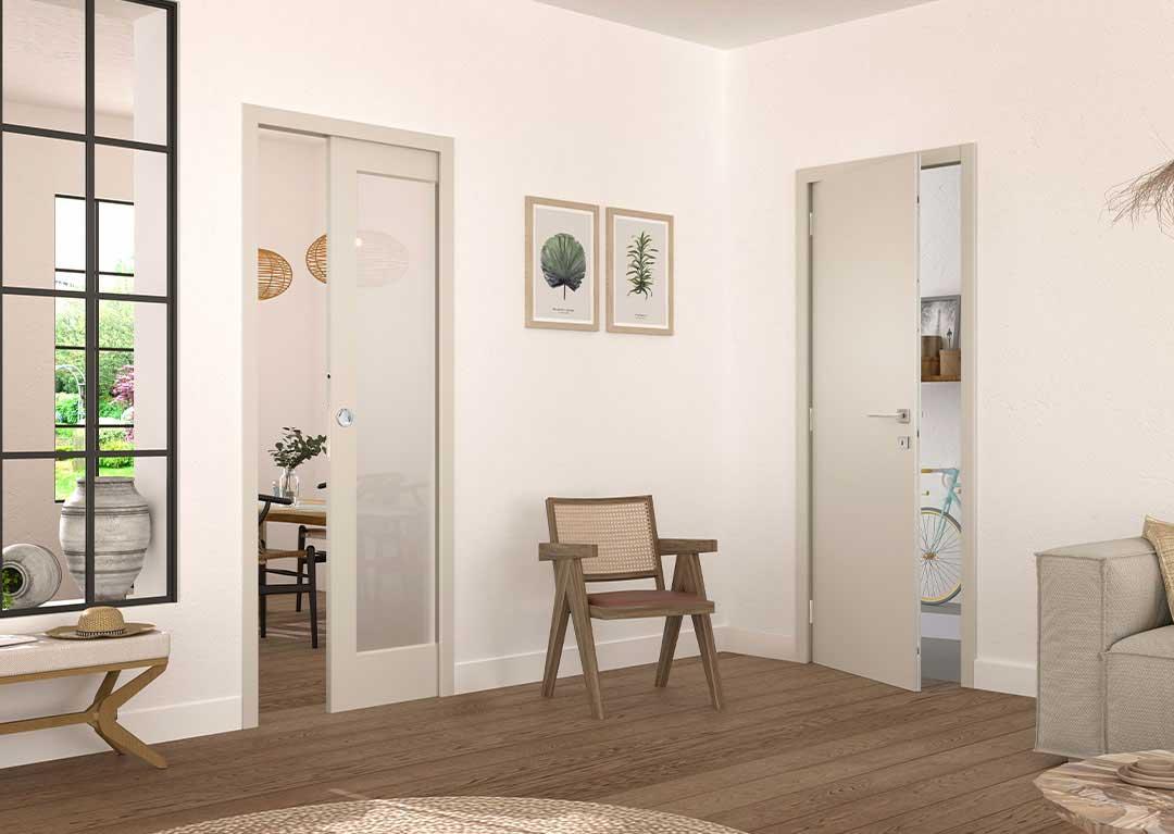 Optimiser l'espace avec des portes coulissantes