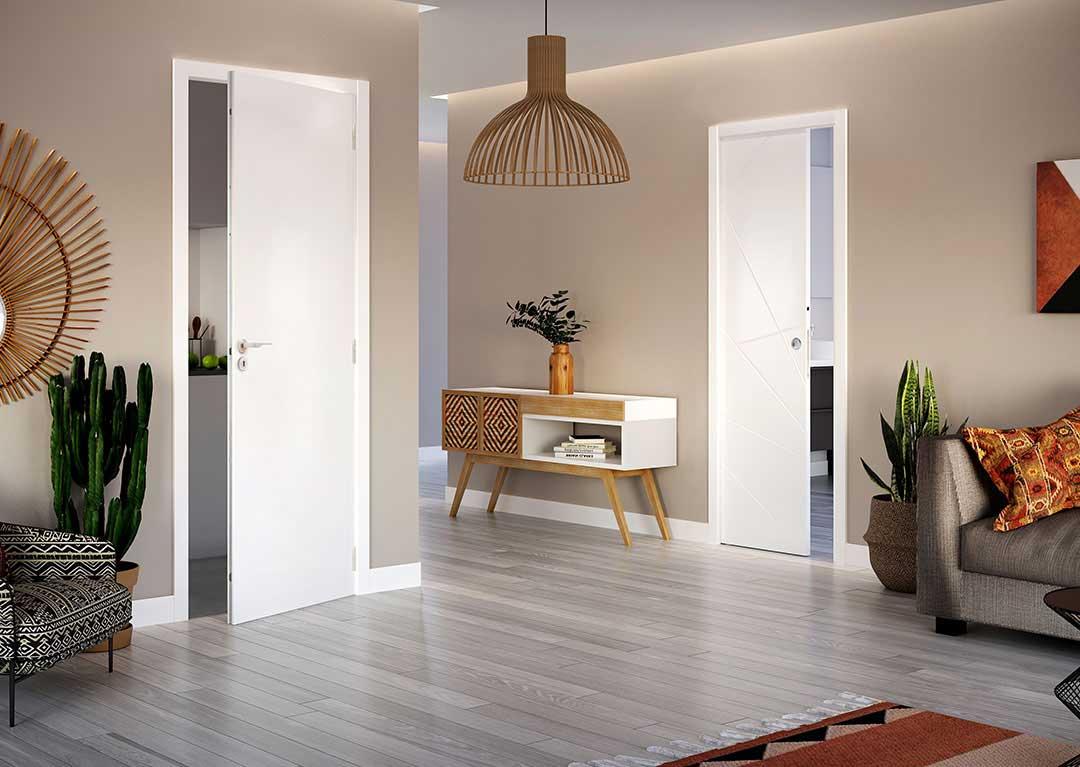 portes de salon décoratives